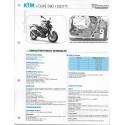 KTM DUKE 390 (2017) Fiche RMT