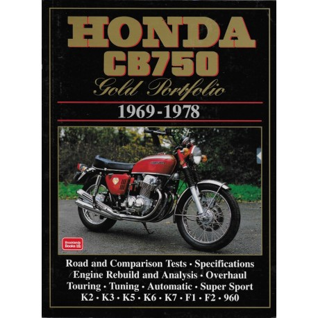 HONDA CB 750 (1969 - 1978) Gold Portfolio