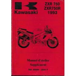 Manuel atelier KAWASAKI STINGER ZXR 750 L1 / M1 (1993)