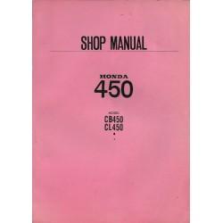 HONDA CB 450 / CL 450 (Manuel de base) juillet 1970