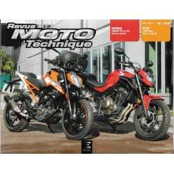 Honda CB 500 FA et XA (2016 à 2018) - KTM 125 Duke (2017 à 2019) RMT