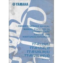YAMAHA TT-R 125 (S) et dérivés type 5 HP modèles 2004