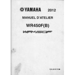 YAMAHA WR 450 F (B) de 2012 type 1DX