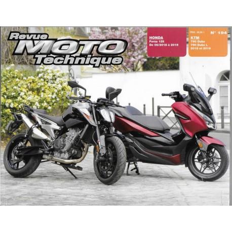 Honda Forza 125 (06 / 18 à 2019) - KTM 790 Duke (2018 / 2019)