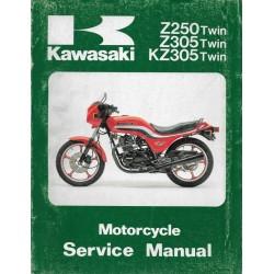 Manuel atelier KAWASAKI Z 250 / KZ 305 (08 / 1988)