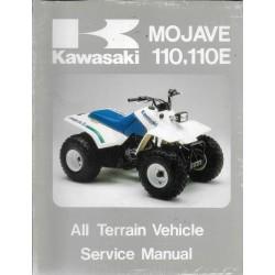KAWASAKI quads MOJAVE 110 / 110E de 1987 (manuel atelier)