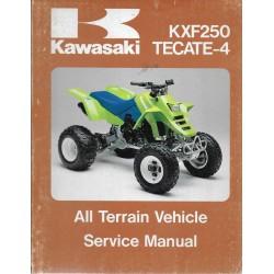 KAWASAKI quads KXF 250 TECATE-4 (1987 / 88) (manuel atelier)
