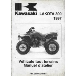 KAWASAKI LAKOTA 300 de 1997 (manuel atelier)