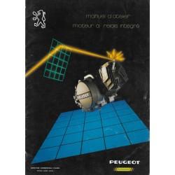 PEUGEOT 49cc à relais intégré manuel atelier 03 / 1985)