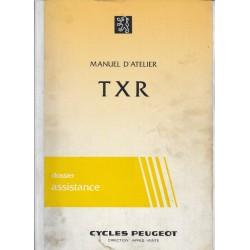 PEUGEOT TXR 50 (manuel atelier moteur 03 / 1985)