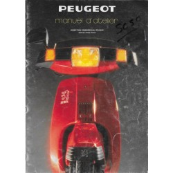 PEUGEOT SC 50 / 80 L (manuel atelier moteur 07 / 1986)