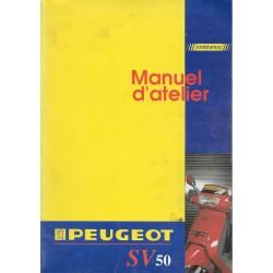 PEUGEOT SV 50 (manuel atelier moteur 09 / 1991)