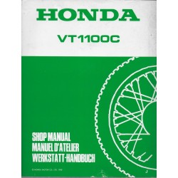 HONDA VT 1100 CJ (Manuel de base mai 1988)
