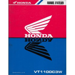 HONDA VT 1100 C3W de 1998 (Manuel de base 02 / 1998)