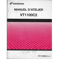 HONDA VT 1100 C2.Y.1.2 de 2002 (Manuel de base 04 / 2002)