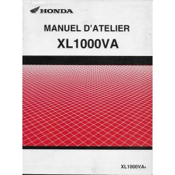 HONDA XL 1000 VA de 2004 (Manuel atelier additif 04 / 2004)