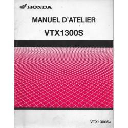 HONDA VTX 1300 S4 de 2004 (Manuel additif 09 / 2003)