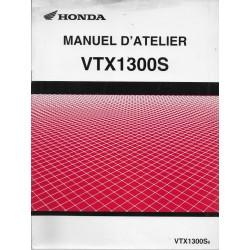 HONDA VTX 1300 S6 de 2006 (Manuel additif 06 / 2005)