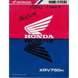 HONDA XRV 750 M (Manuel atelier additif 09 / 1990)