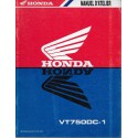 HONDA VT 750 DC-1 de 2000 (Manuel atelier additif 05 / 2000)