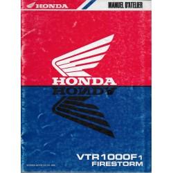 HONDA VTR 1000 F1 de 2001 (Additif décembre 2000)