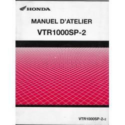 HONDA VTR 1000 SP-2 de 2002 (Additif février 2002)
