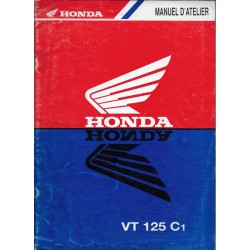 HONDA VT 125 C1 de 2001 (Manuel de base 09 / 2000)