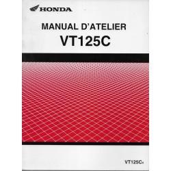 HONDA VT 125 C4 de 2004 (Manuel additif atelier 11 / 2003)