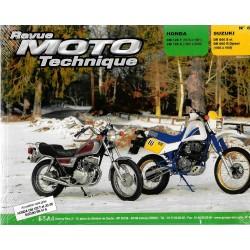 Honda CM 125 T et C (1978 - 2000) / Suzuki DR 600 S et R (1985 - 89) RMT 60