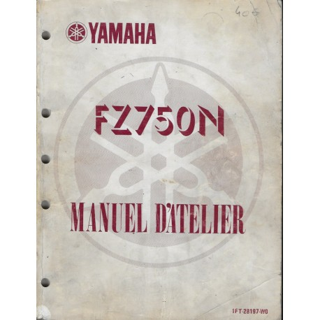 YAMAHA FZ 750 N de 1985 (manuel atelier 02 / 1985)