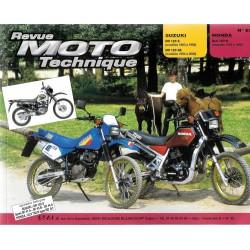Suzuki DR 125 S - SE (1983 - 2000) / Honda XLV 750 R (1983 - 85) RMT 62