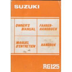 SUZUKI RG 125 F de 1985