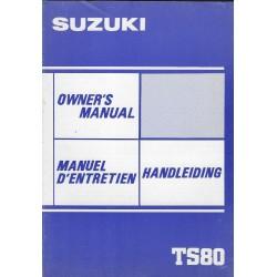 SUZUKI TS 80 D de 1983