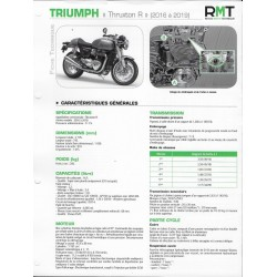 "TRIUMPH ""Thruxton R"" 1200cc (2016 à 2019) Fiche RMT"