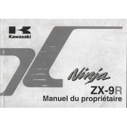 KAWASAKI Ninja ZX-9R (ZX900-E1) de 2000 (08 / 1999)
