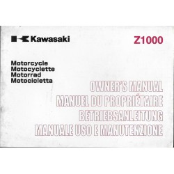 KAWASAKI Z 1000 de 2004 (ZR 1000-A) 05 / 2003