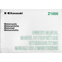KAWASAKI Z 1000 de 2005 (ZR 1000-A) 08 / 2004