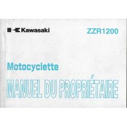 KAWASAKI ZZ-R 1200) de 2002 (ZX1200-C1 / D1) 12 / 2001
