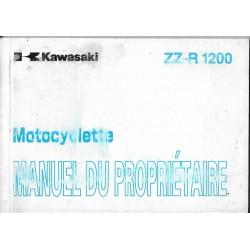 KAWASAKI ZZ-R 1200 de 2002 (ZX1200-C1 / D1) 12 / 2001