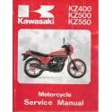KAWASAKI KZ 400 / 500 / 550 (Manuel atelier 03 / 1985)