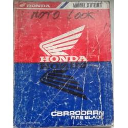 HONDA CBR 900 RRN de 1992 (Manuel atelier 03 / 1992)
