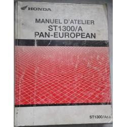HONDA ST 1300 / A Pan European 2002 / 2003 manuel atelier)