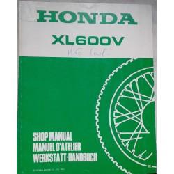 HONDA XL 600 VR de 1994 (Additif décembre 1993)