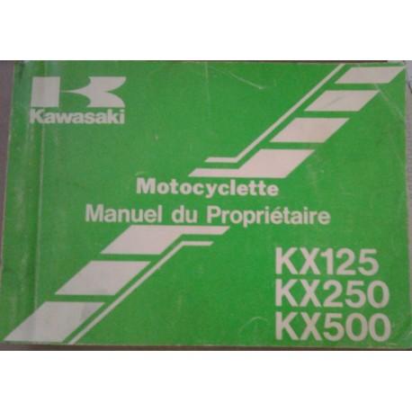 KAWASAKI KX 125 / 250 / 500 de 1988