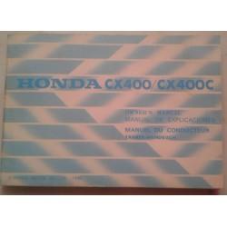 HONDA CX 400 / CX 400 C de 1981 (manuel utilisateur 11 / 80)