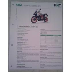 "KTM ""1290 SuperDuke GT"" (2019) Fiche RMT"