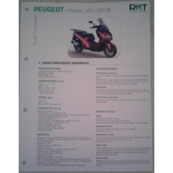 PEUGEOT Pulsion125 (modèles 2019) Fiche RMT