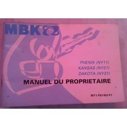 MBK (notice emploi Phénix - Kansas - Dakota) 12 / 2004