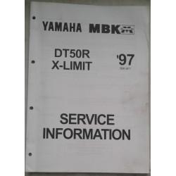 YAMAHA / MBK DT 50 R / X-LIMIT (M.A. 1997 ) type 5BK