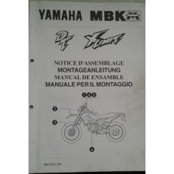 YAMAHA / MBK DT 50 / X-Limit 1997( assemblage 6 / 97) 5BK